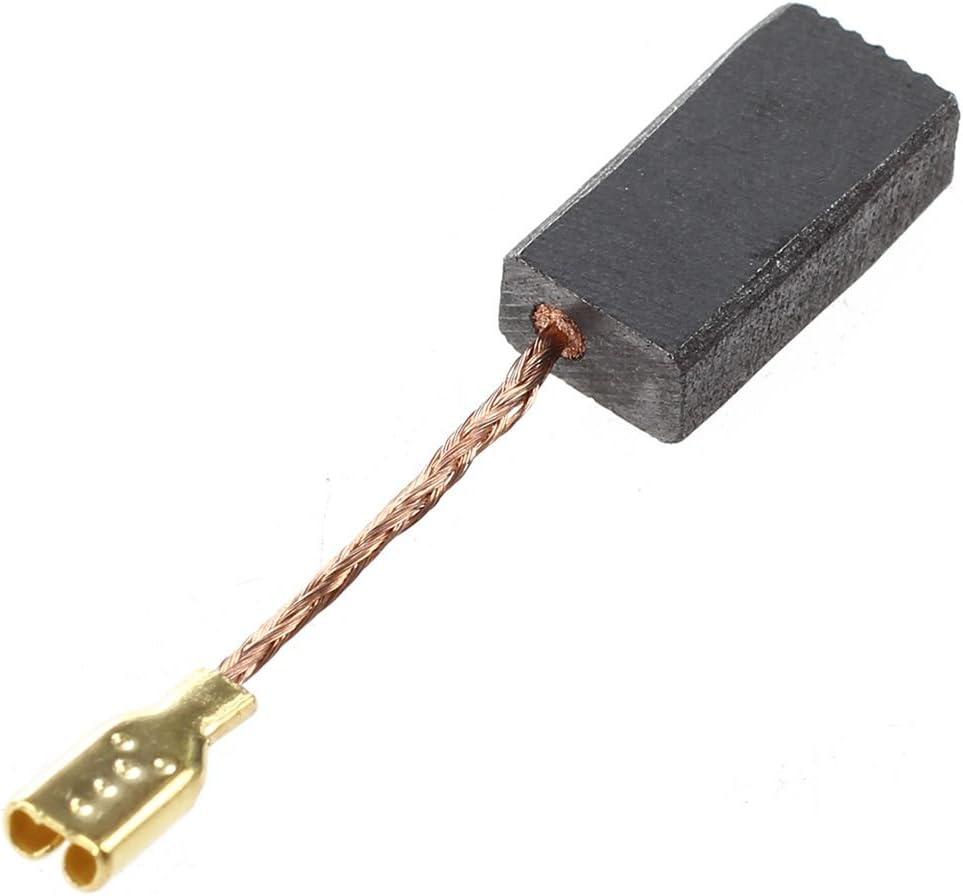 Fltaheroo 8Pcs 15mm x 8mm x 5mm cepillos electricos de carbono para amoladora de angulo de