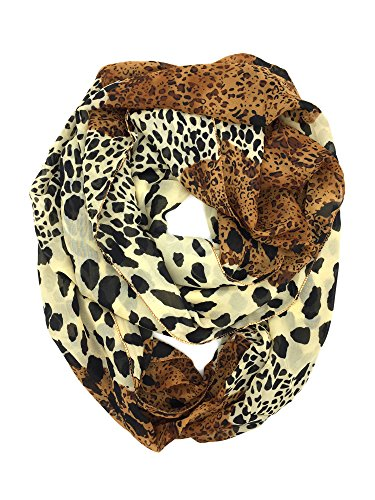 Women Thick Winter Warm Cable Infinity Circle Loop Cowl Scarf ()