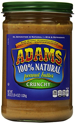 Adams Natural Peanut Butter Crunchy product image
