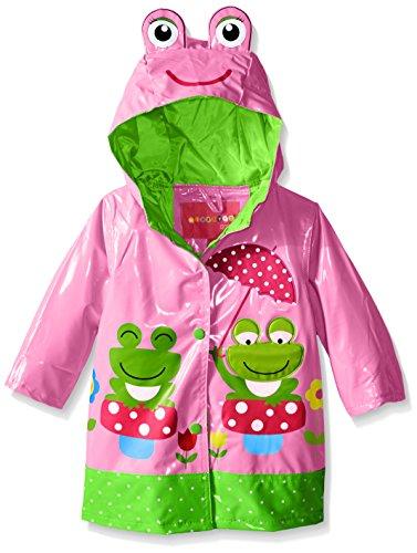 Wippette Baby Frog with Polka Dot Rainwear, Sugar Plum, 12 Months