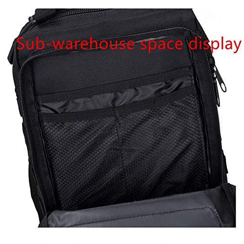 Fan Outdoor Camuffamento Lijun Spalla Bag Attacco Aumento black Cs Alpinismo 3p Esercito Impermeabile Black Zaino Tattiche nxTqqY07rU