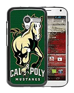 NCAA Big Sky Conference Football Cal Poly Mustangs 5 Black Moto X Case Sale Online