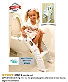 Toddler toilet. Kids potty seat for toilet. Chair with steps.Luxxbaby by Karibu