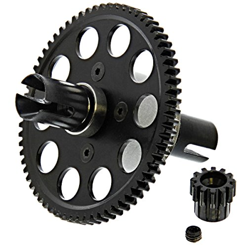 - CEN Colossus XT Reeper GST CENTER DIFFERENTIAL, SPUR & PINION GEAR, OUTDRIVES