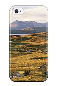Premium Durable Countryside Escape Earth Landscape Nature Landscape Fashion Tpu Iphone 4/4s Protective Case Cover hjbrhga1544