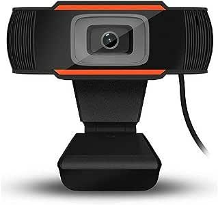 DANQI Webcam 1080P Full HD Camera, USB Streaming Webcam,110-Graden Breedbeeld Web Camera,Geweldig voor Webinars,Video Conferencing,Live Streaming,etc