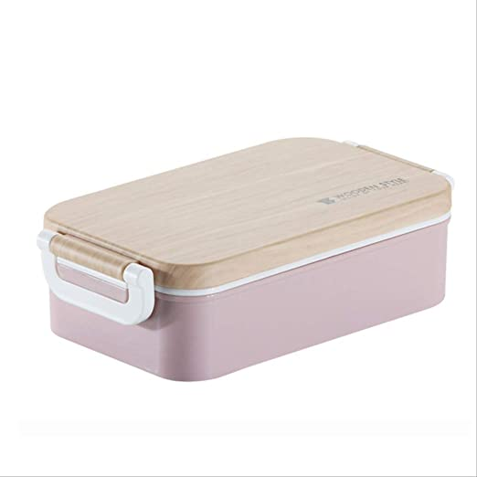AQBHEDKO Japanese Lunch Box Ensalada de Madera Bento Box ...