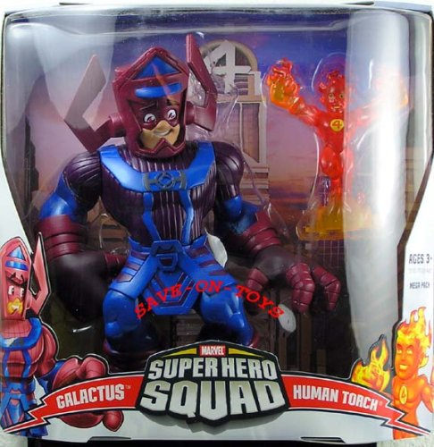 Superhero Squad Mega Pack: Galactus & Human Torch, used for sale  Delivered anywhere in Canada
