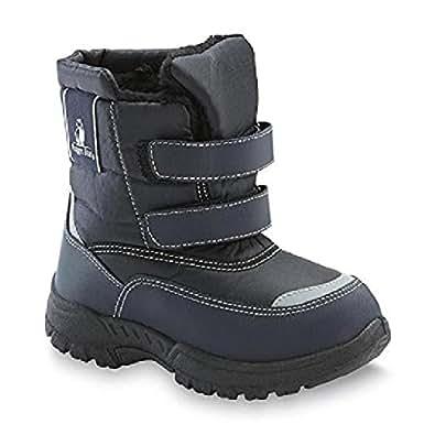 Amazon.com | Rugged Bear RB72162 Boys snow boots Navy