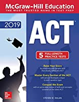 McGraw-Hill ACT 2019 edition Front Cover