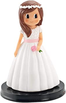 Disok Figur Kuchen Kommunion Mädchen Bücher, mehrfarbig
