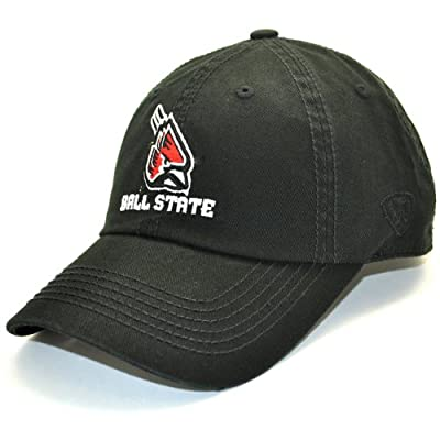 Ball State Cardinals Official NCAA Adult Adjustable Cotton Crew Hat Cap by Top of the World