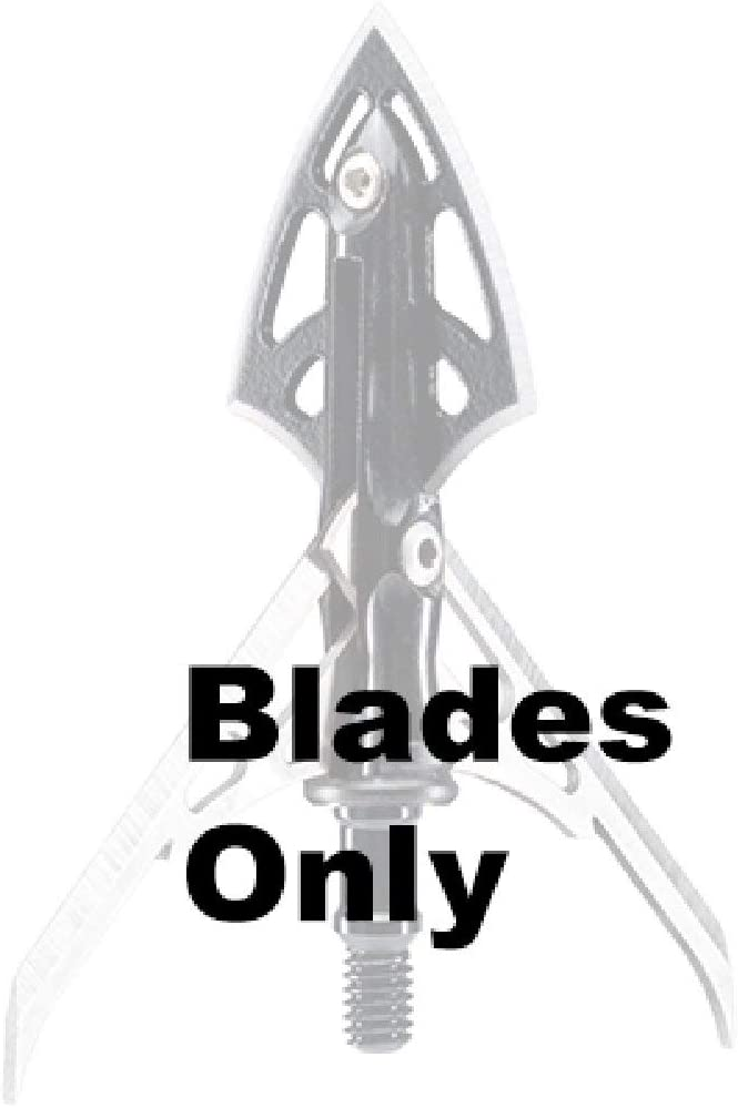 Pack of 3 Rage Hypodermic 2 Blade Replacement Blades