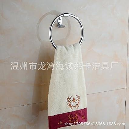 Accesorios de Baño MoomQe fácilmente para montar una buena decoración todo el cobre efecto corona toallas