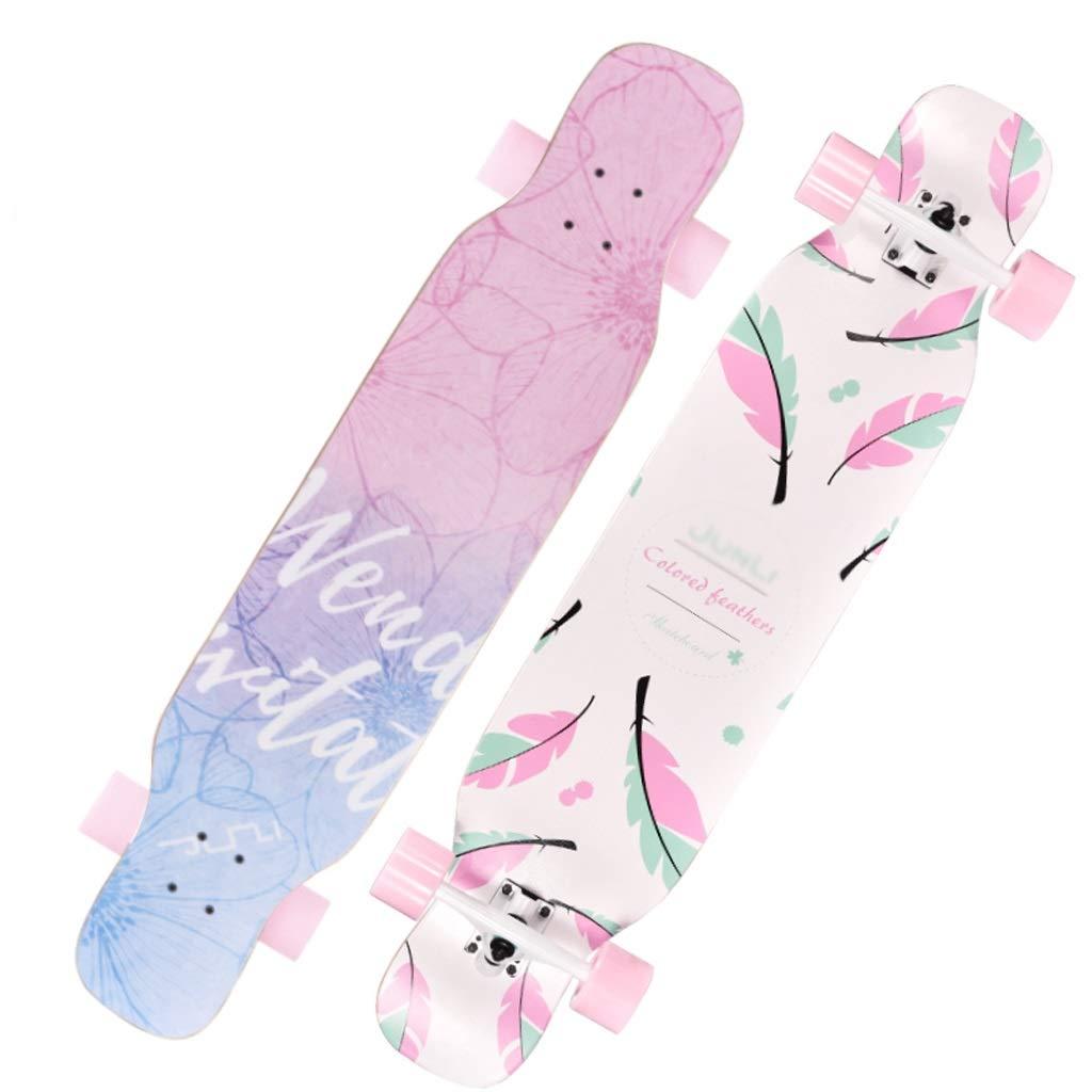 新作人気 DUWEN A) スクーター大人の女の子四輪スケートボードロードプロフェッショナルブラシストリートダブルアッパーボーイズダンスボードロングボード初心者スクーター DUWEN (色 : A) B07NRT6KX8 B07NRT6KX8 A, Bambi Water OnlineShop:1d8399b4 --- a0267596.xsph.ru