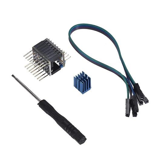 IJeilo Partes de la Impresora TMC2130 V1.1 Paso a Paso Conductor ...