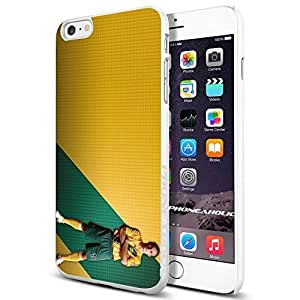 Zheng caseZheng caseMLS LA Galaxy Landon Donovan , , Cool iPhone 4/4s (6+ , ) Smartphone Case Cover Collector iphone TPU Rubber Case White [By PhoneAholic]