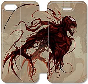 Personality Design Carnage-3 iPhone 4 4S Leather Flip Case