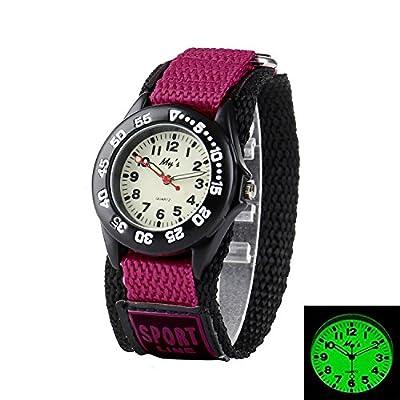 Misskt Outdoors Watch with Velcro Strap Children Kids Watches Outdoor Sports Boy Girl Waterproof Watches from Misskt