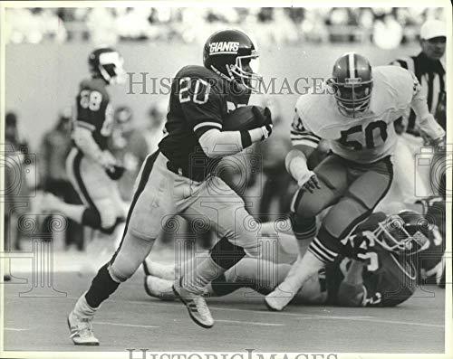 1985 Press Photo Former Giants running back Joe Morris. - mjt13541