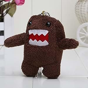 PJs Toybox Domo Kun peluche téléphoniques porte-clés jouets Brown 3.5 polegada livraison gratuite 10