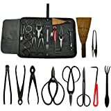 Carbon Steel Equipment Tool Bonsai Tool Kit (10 piece) for Gardening
