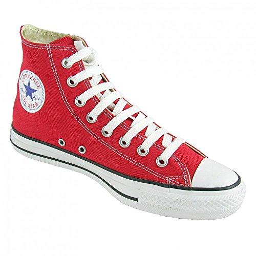 Converse Chuck Taylor All Star Hi-Top–Maletín lienzo entrenadores Red