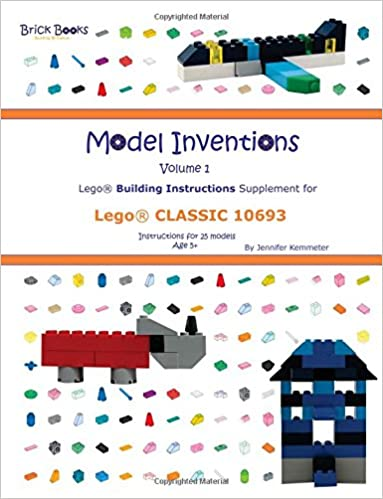 Model Inventions Volume 1 Lego Building Instructions Supplement