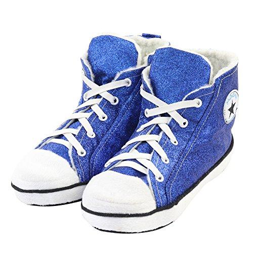 Gohom ,  Herren Chelsea Boots Dark Blue&Red
