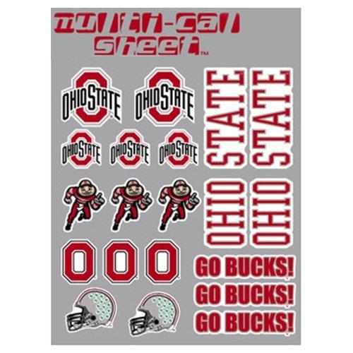 (CDI Ohio State Buckeyes Decal Sheet - 18 Stickers)