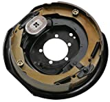 Husky 30799 12'' x 2'' Left Handed Electric Brake Assembly - 4000 to 6000 lbs. Load Capacity