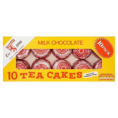 Tea Cakes - Tunnock's Milk Chocolate Teacakes (10 per pack - 275g)