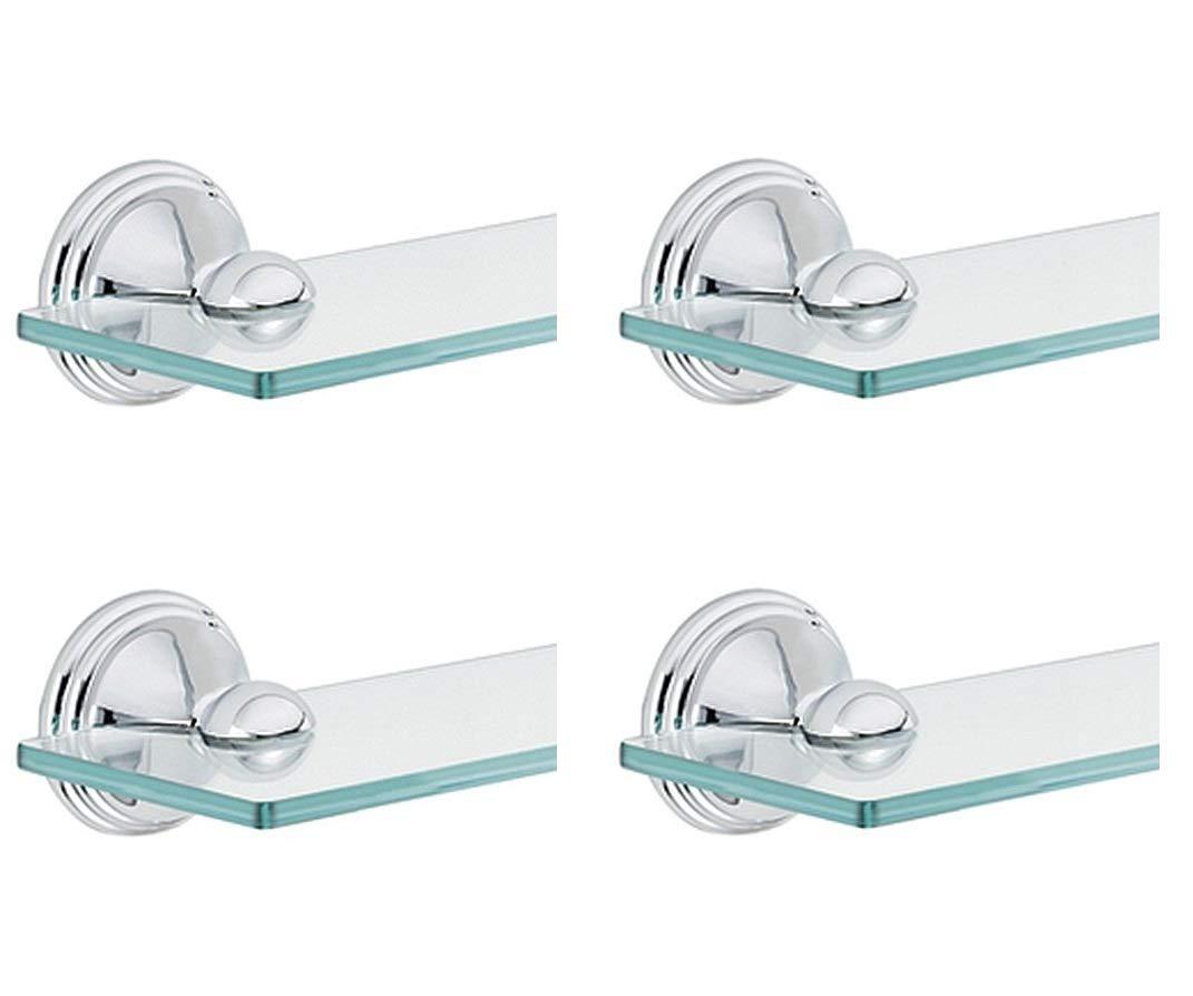 Moen DN8490CH Preston Bathroom Vanity Shelf, Chrome (Pack of 4)