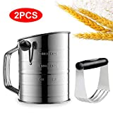 Yummy Sam 3 Cup Flour Sifter Stainless Image