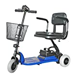 Shoprider - Echo 3 - Portable Travel Scooter - 3-Wheel - Blue - PHILLIPS POWER PACKAGE TM - TO $500 VALUE