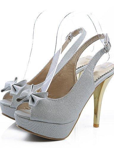 Casual Silver Stiletto Heels Peep Purple Toe Heel Pink Women's White Dress ShangYi Wedding Pink Sandals Shoes 6qwHEvnIg