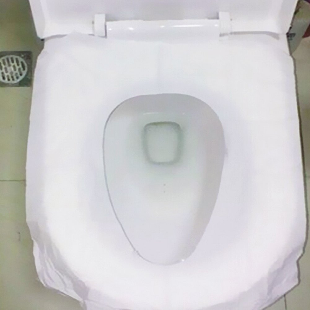 Taglia Libera USA e Getta SUNERLORY coprisedile WC White Uso in pubblico igienici Great Piece of Mind Accessorio da Viaggio igienico Formato Tascabile