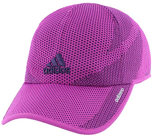 adidas Womens Adizero Prime Cap, Vivid Pink/Dark Purple, ONE SIZE