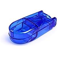 ROSENICE Coupe-Comprimé avec lame Boîte de Pilule en ABS Boîte de séparateur de comprimé