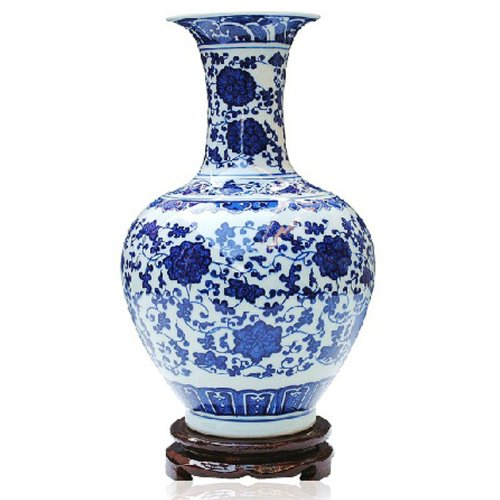 ufengke®Blue And White Porcelain Vase Online Shop -