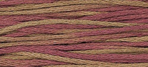 Weeks Dye Works Embroidery Floss Thread, Rust