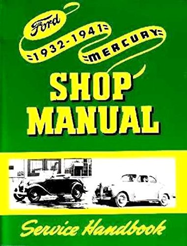1932 1933 1938 1939 1940 1941 Ford Lincoln Mercury Shop Service Repair Manual
