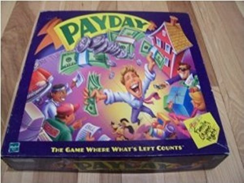 Parker Brothers Monopoly Rules - Payday Board Game Parker Brothers 2000 Edition