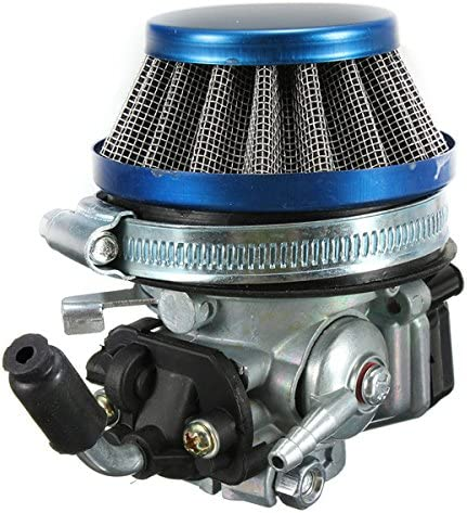 Alamor Filtro de carburador + aire carburador 49cc 50cc 60 66 80cc ...