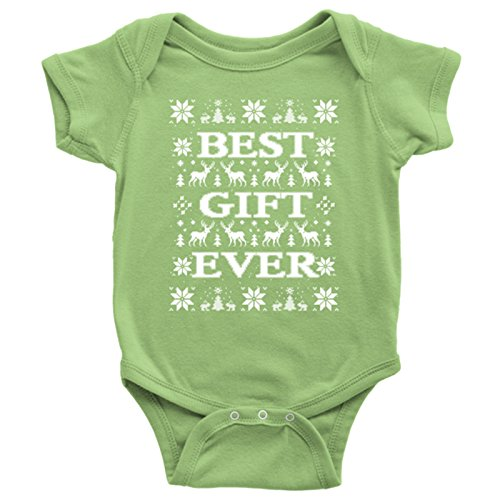best gift ever christmas onesie ugly christmas vacation bodysuit christmas ugly sweater style for - Christmas Vacation Onesie