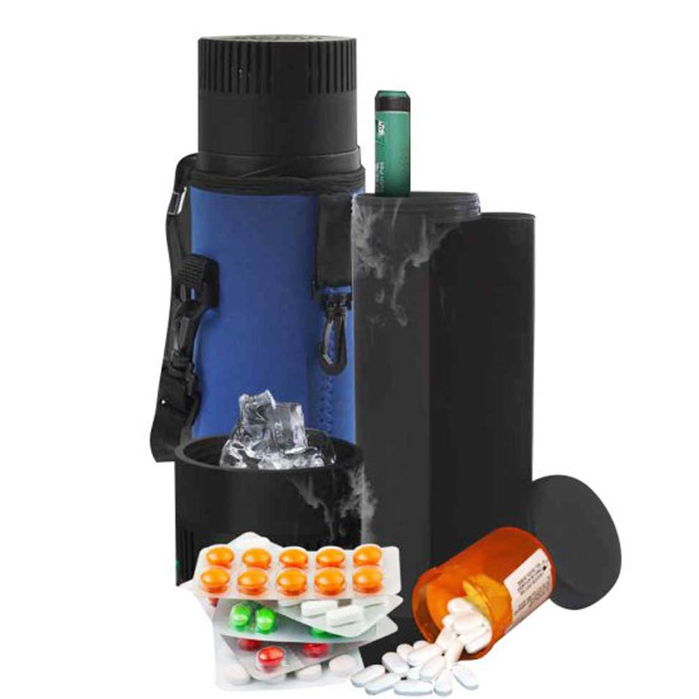 Careshine Insulin Cooler Box Refrigerated Box Insulin Cooler Case Portable Drug Reefer Car Small Refrigerator Travel Case (Insulin Cooler Cup)
