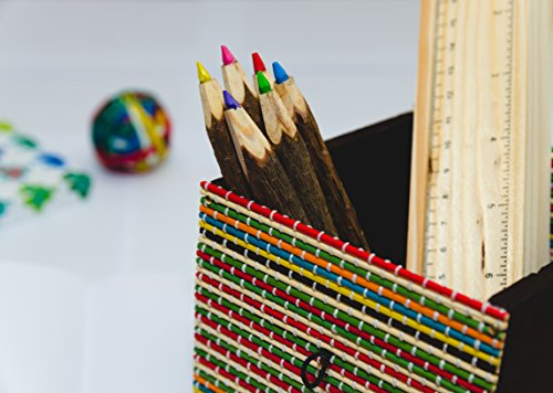 Colored Pencils And Ruler ()