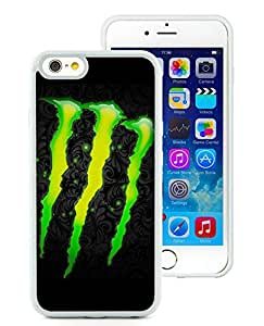 Beautiful Unique Designed iPhone 6 4.7 Inch TPU Cover Case With Monster 47 White Phone Case