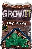 Hydrofarm Growt GMC40l Clay Pebbles, 4mm-16mm, 40 Liter Bag