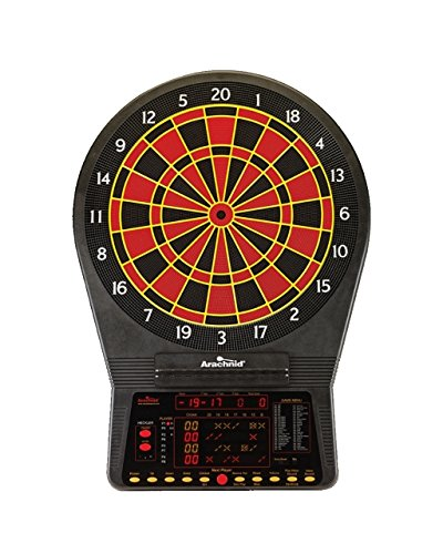 Cricket Pro 900 by Arachnid- Talking Electronic Dartboard, 15.5″ Target Area, Up to 8 Player Score Display, Solo Play, MPR and PPD Scoring, 8 New Games, Includes Soft Tip Darts and Extra Tips